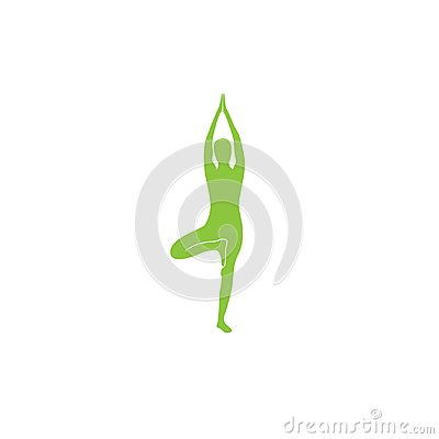 Yoga Logo abstract design vector template. Health Spa Meditation Harmony Logotype concept. Yoga Logo Icon Design. Vector Illustration