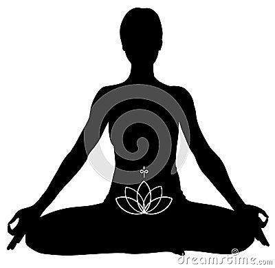 Free YOGA Lotus Pose Stock Photos - 13666993
