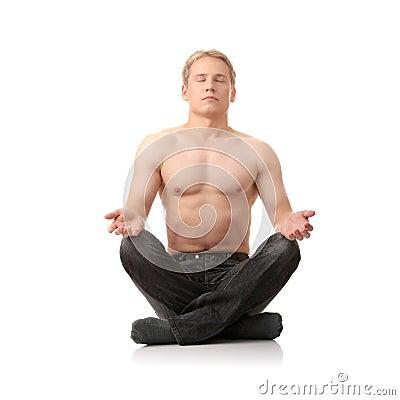 Yoga male