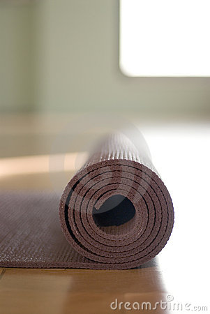 Free Yoga Mat Stock Images - 7472284
