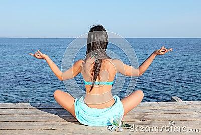 Yoga or meditation