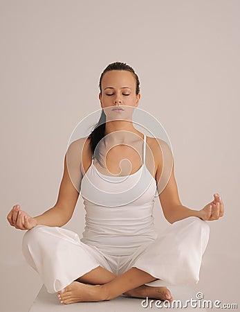 Stock Photos  Yoga Meditation PoseYoga Meditation Pose