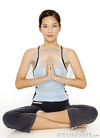 Free Yoga Pose Stock Photos - 1091463