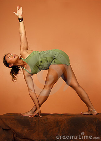 Yoga Pose Arm Extension