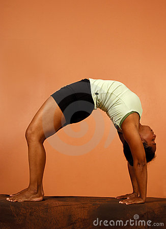 Yoga Pose Backward Bend