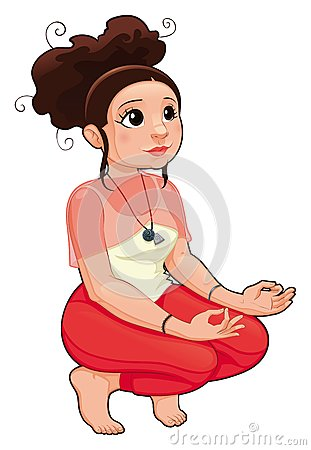 Yoga Position.