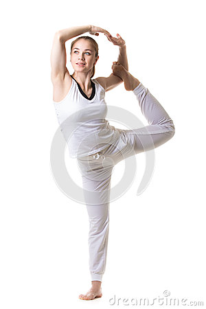 yoga posture stock photo  image 54039254