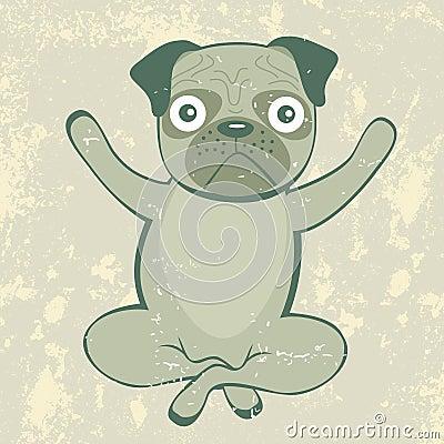 Yoga pug