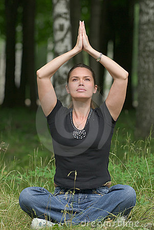 Yoga recreational exercise