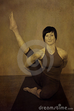 Yoga Seated Woman