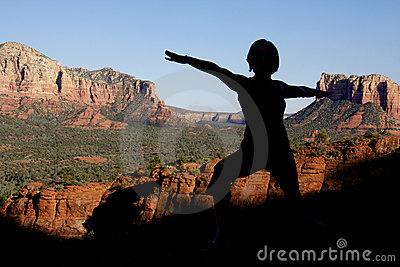 Yoga at Sedona