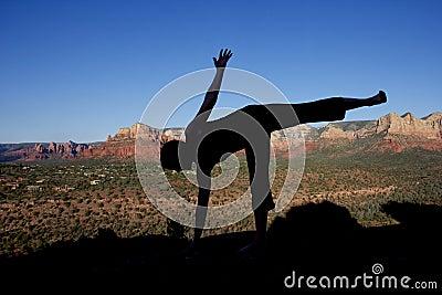 Yoga at Sedona