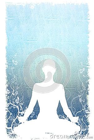 Yoga Sitting Background