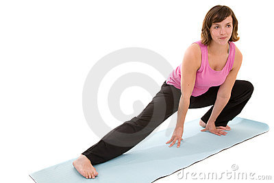 Yoga stretch