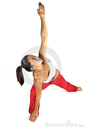 Free Yoga Stretch Royalty Free Stock Photography - 89987