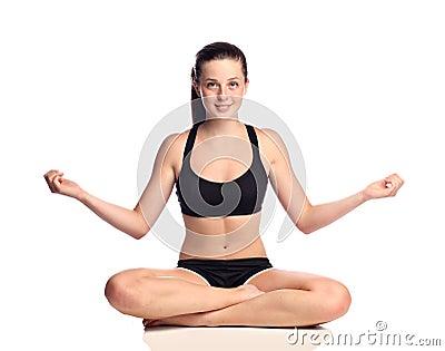 Yoga teen