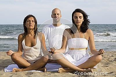 Yoga by three