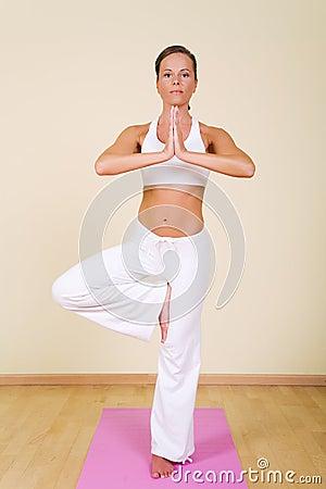 Yoga - Vrikshasana
