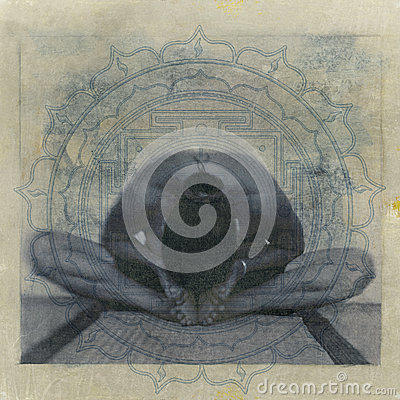 Free Yoga Yantra Royalty Free Stock Photos - 29780648