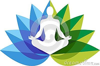 Yoga zen logo