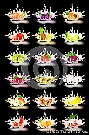 Yoghurt with fresh fruit