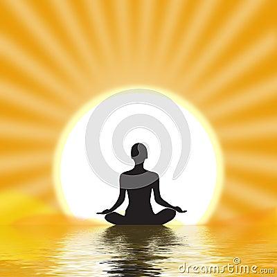 Free Yogi Meditating Stock Photos - 12039123