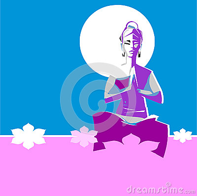 Free Yogi Woman In Yoga Position Asana Royalty Free Stock Photos - 52403908