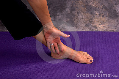 Yogic hand and foot