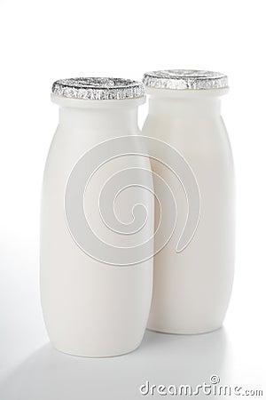Yogurt bottles