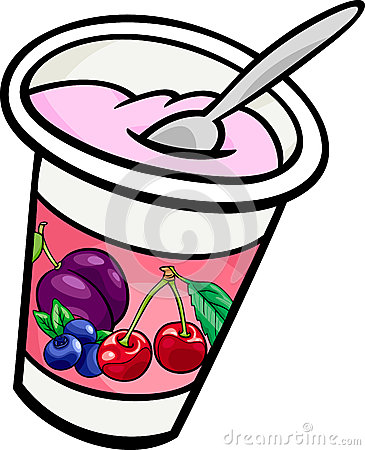 Cartoon Yogurt Cup Yogurt-clip-art-cartoon- ...