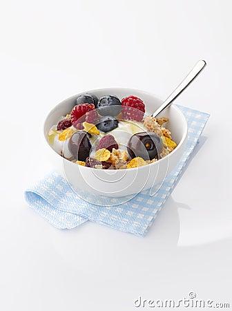 Yogurt With Fresh Fruit And Granola Stock Images - Image: 31855554