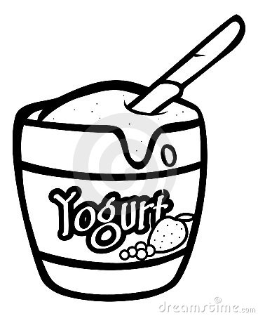 Yogurt outline
