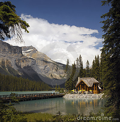 Yoho National Park - Canada Editorial Stock Image
