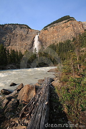 Yoho River and Takakkaw Falls