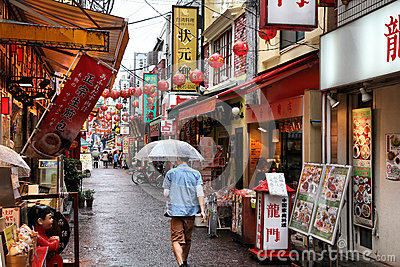 Yokohama Chinatown Editorial Stock Image