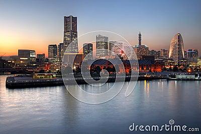 Yokohama skyline, Japan