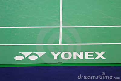 Yonex brand Editorial Stock Image