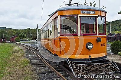 York #163 trolley