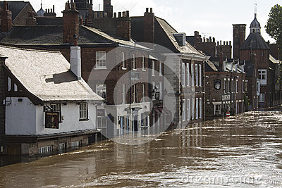 York Floods - Sept.2012 - UK Editorial Image