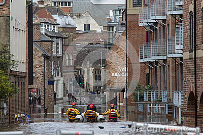 York Floods - Sept.2012 - UK Editorial Photography