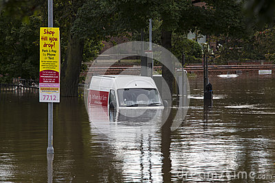 York Floods - Sept.2012 - UK Editorial Photo