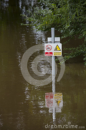 York Floods - Sept.2012 - UK Editorial Stock Photo