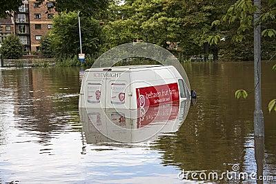 York Floods - Sept.2012 - UK Editorial Image