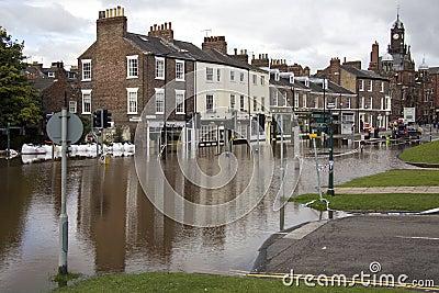 York Floods - Sept.2012 - UK Editorial Stock Photo