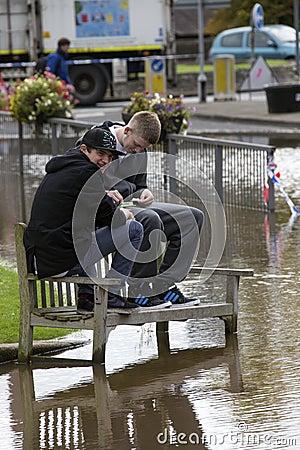 York Floods - Sept.2012 - UK Editorial Photo
