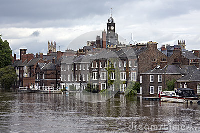 York Floods - Sept.2012 - UK Editorial Stock Image