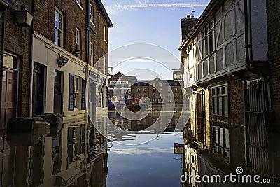 York Floods UK Editorial Image
