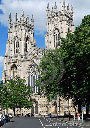 York Minster Editorial Photography