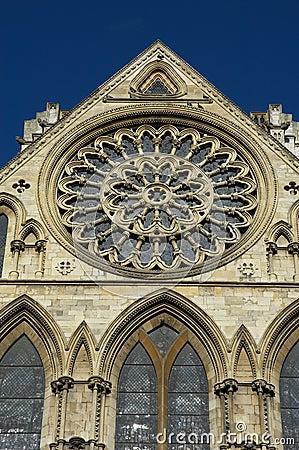 Free York Minster Rose Window Stock Images - 543274