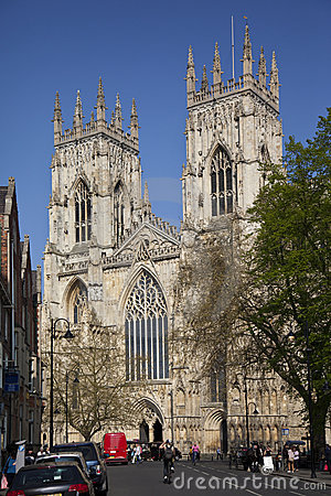 York Minster - York - England Editorial Image